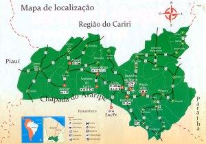 Mapa Cariri